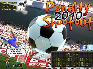 Juegos.com Penalty Shootout 2010