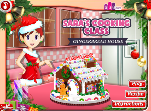 Juegos Gingerbread House Cooking