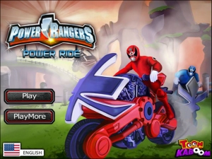 Juegos Power Rangers Race